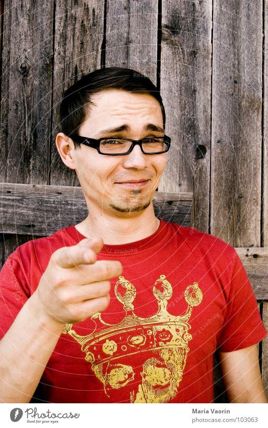 Man Joy Laughter Funny Grinning Joke Deception Sounds of levity Funster Humor Carnival fool Psychological terror Person wearing glasses Mockery