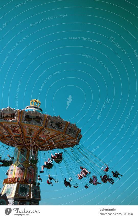 Kitsch Carousel 2 Fairs & Carnivals Rotate Playing chain carousel Sky Flying fair Joy D 80 Seating