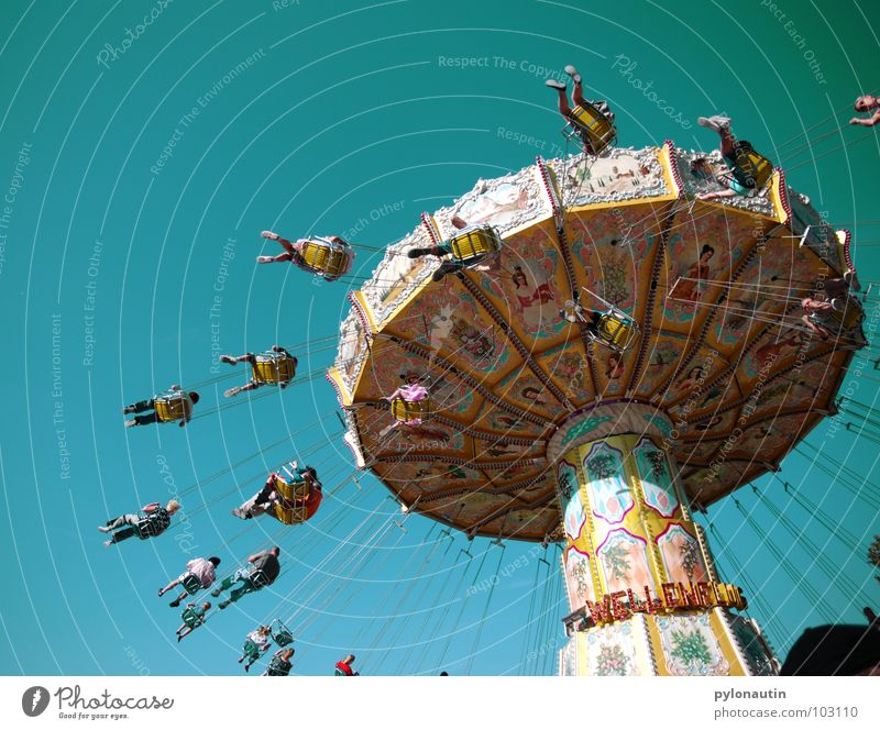 Kitsch Carousel 3 Fairs & Carnivals Rotate Playing chain carousel Sky Flying Joy D 80 Seating