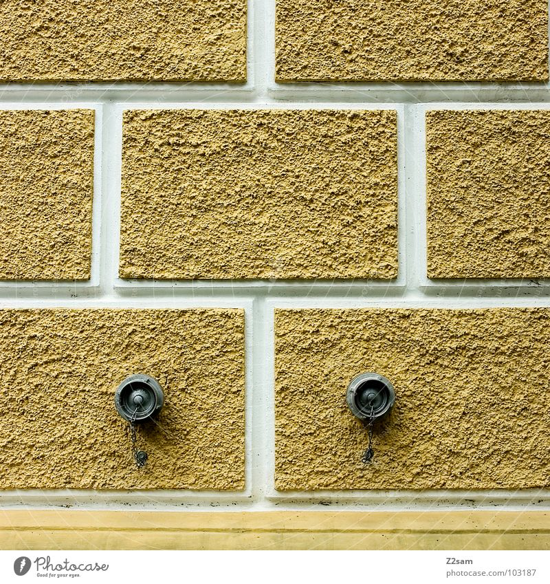 White Yellow Wall (building) Stone Architecture Gold Simple Square Geometry Connection Equal Watering Hole