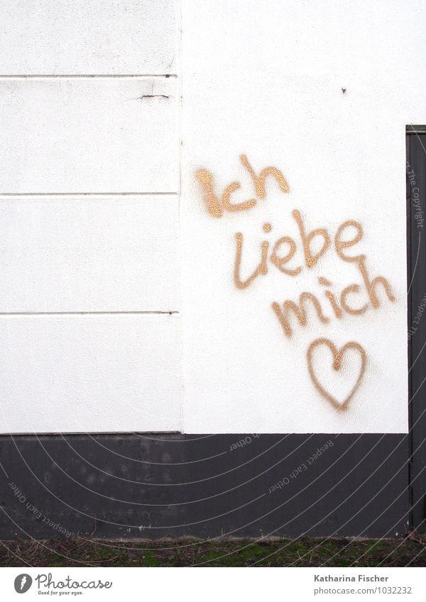 White Life Wall (building) Graffiti Emotions Love Wall (barrier) Stone Moody Art Design Characters Concrete Street art Communication Figure of speech