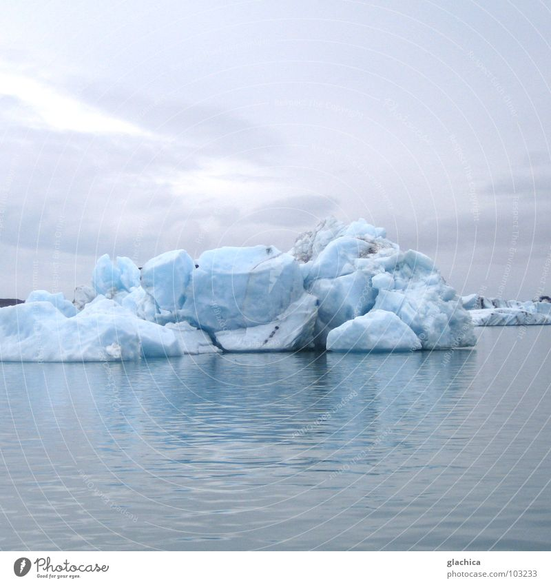 Ice: forever? Iceland Summer Winter Northern Europe Ocean Lake Cold White Infinity Monstrous Calm Frictionless Jökulsárlón Lagoon Glacier Vatnajökull glacier