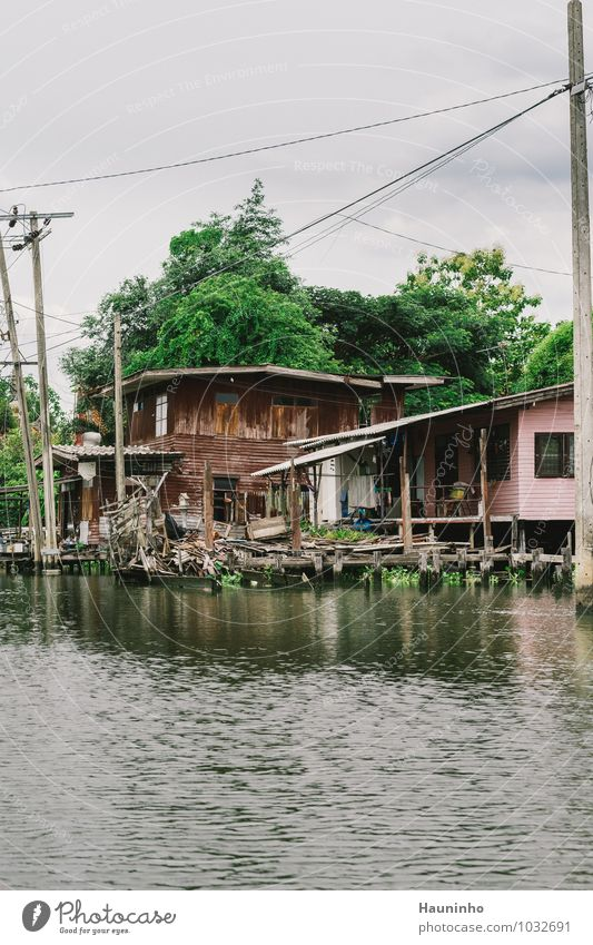 House at the big river Vacation & Travel Adventure Far-off places Summer Living or residing Flat (apartment) House (Residential Structure) Redecorate