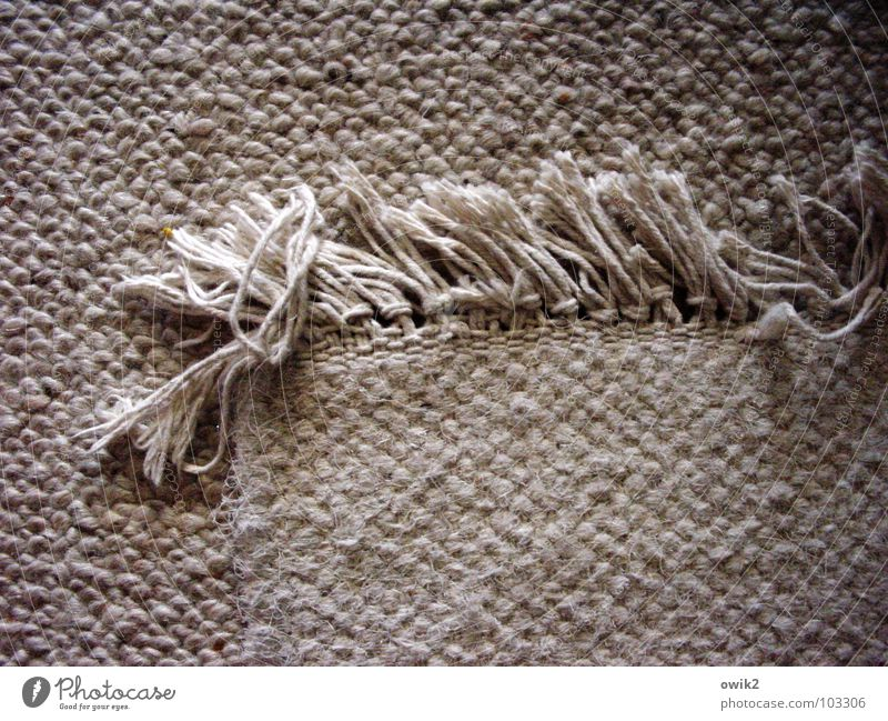 Hard on the edge Living or residing Flat (apartment) Living room Art Cloth Knot Fat Simple Firm Bright Near Gloomy Under Calm Carpet Corner Edge Tattered