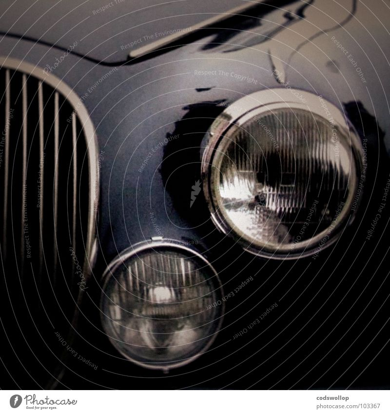 Car Transport Might England Floodlight Chrome Chase Limousine Radiator  grille Saloon