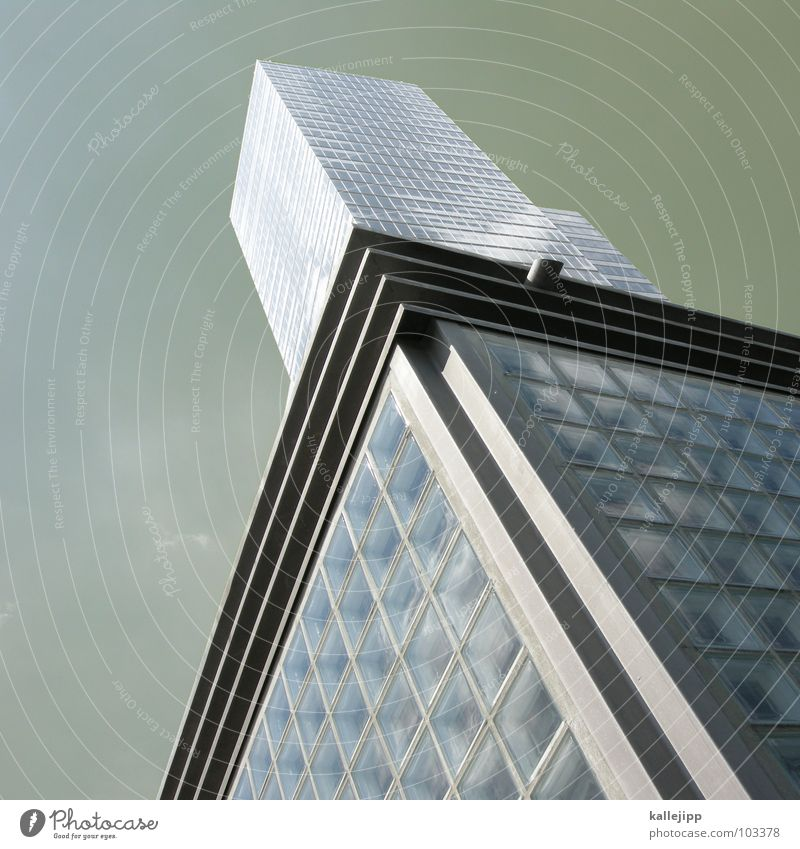 Sky City Window Architecture Building Air Business Work and employment Room Fear Glass Concrete Level Steel War Cologne