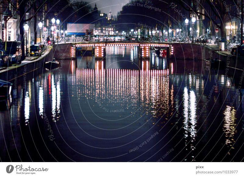 january in amsterdam Vacation & Travel Tourism Trip Sightseeing City trip Winter Night life Feasts & Celebrations Gastronomy Closing time Culture Night sky