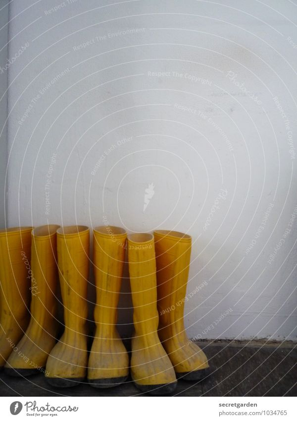 White Yellow Wall (building) Wall (barrier) Work and employment Together Leisure and hobbies Dirty Multiple Footwear Wait Protection Construction site Safety Workplace Barn