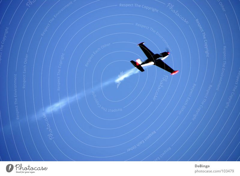 Sky White Blue Summer Clouds Line Fear Airplane Speed Aviation Wing Smoke Beautiful weather Panic Tails Steam