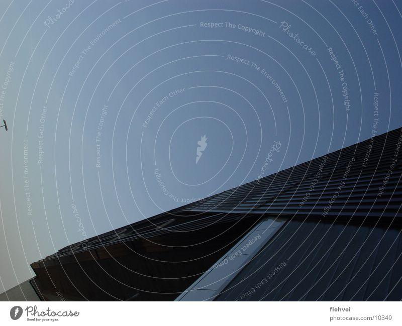 Sky Blue Window Movement Gray Metal Architecture Concrete Horizon Luxury Entrance Interesting