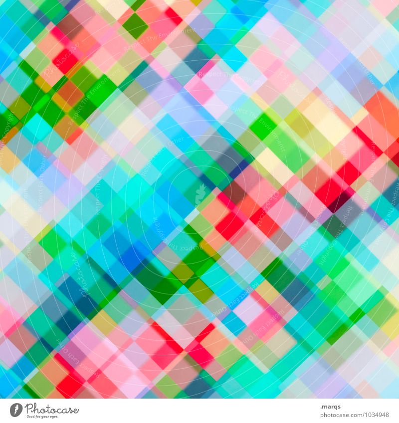 pixels Lifestyle Elegant Design Mosaic Line Exceptional Cool (slang) Bright Hip & trendy Modern New Crazy Multicoloured Colour Arrangement Irritation