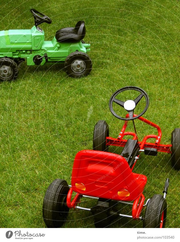 Green Red Joy Black Meadow Playing Lawn Toys Hunting Passion Statue Dynamics Parking Sporting event Competition Tractor