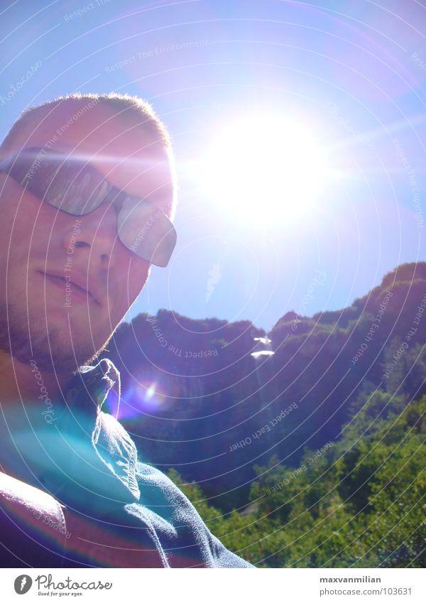 EGOshooting I Sunglasses Dream Jail sentence Hiking River Brook Sky Waterfall Mountain