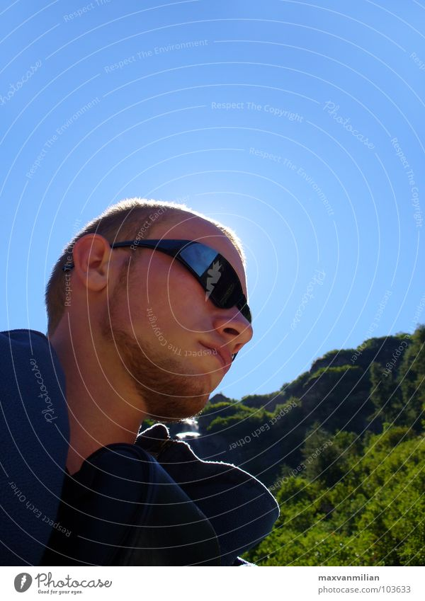 Sky Blue Mountain Dream Hiking Switzerland Sunglasses Eyeglasses