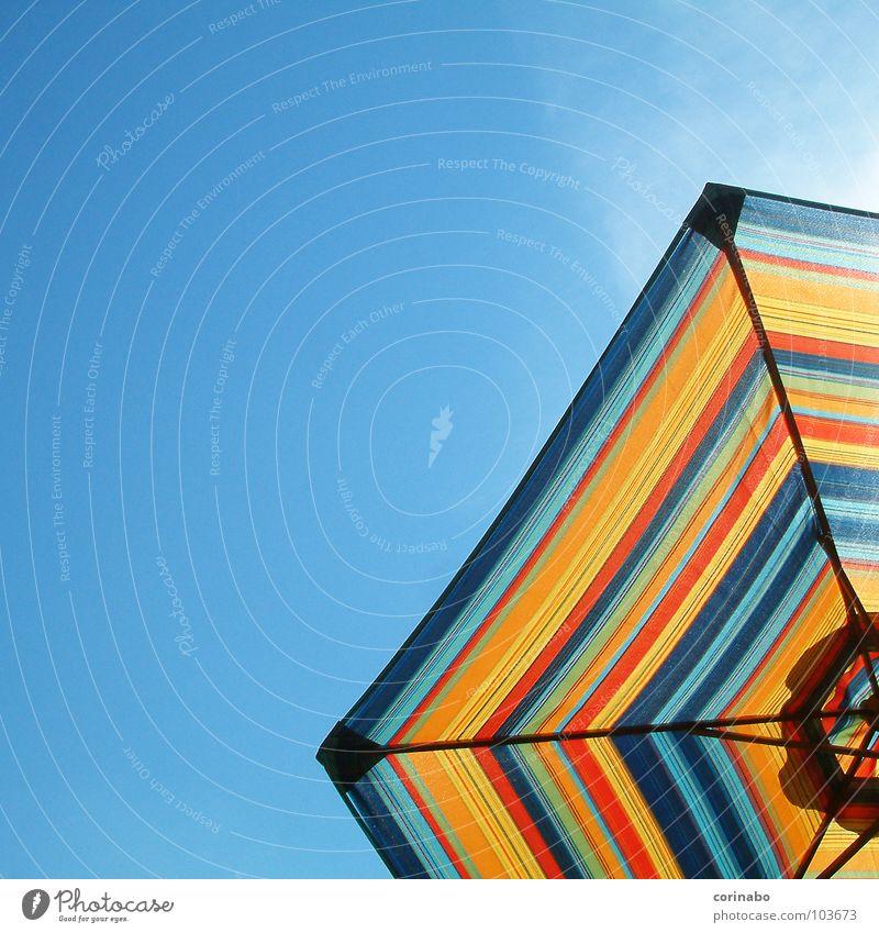 summertime II Sunshade Summer Beach Vacation & Travel Multicoloured Hot Physics Colour Joy Sky Blue bechlife Warmth