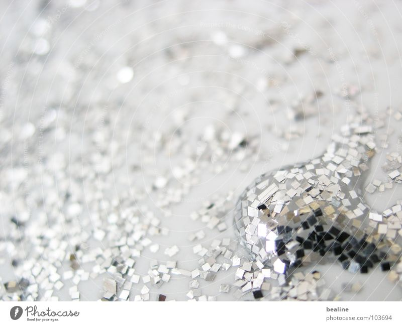 Silver drip Harmonious Calm Water Drops of water Disco ball Metal Crystal Glittering Dream Fluid White Esthetic Contentment Innovative Inspiration Future