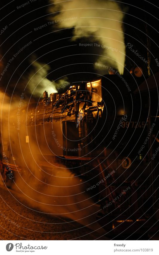 Transport Smoke Steam Engines Harz Fragment Steamlocomotive
