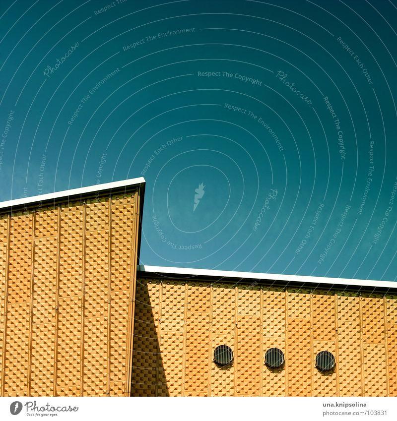 Yellow Window Architecture Facade 3 Circle Corner Round Geometry Opening Berlin Berlin Philharmonic