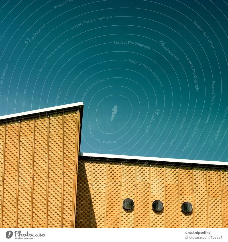 Yellow Window Architecture Facade 3 Circle Corner Round Geometry Opening Berlin Berlin Philharmonic