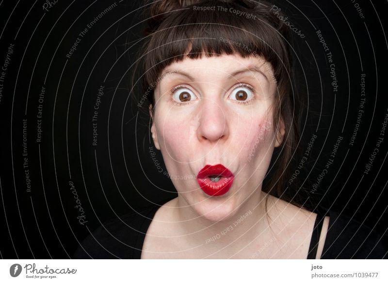 Human being Woman Adults Life Feminine To talk Fear Crazy Communicate Curiosity Fear of death Lips Belief Surprise Irritation Distress