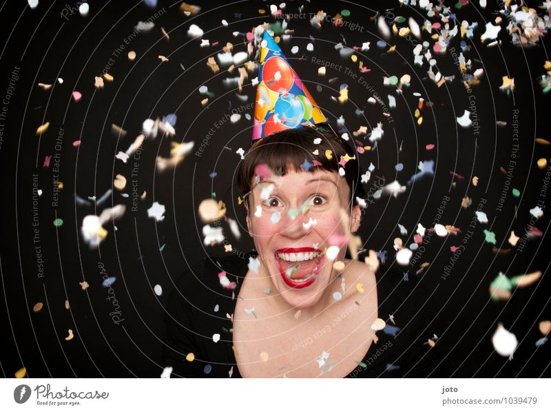 Human being Youth (Young adults) Young woman Joy Life Happy Laughter Feasts & Celebrations Party Wild Contentment Birthday Free Happiness Crazy Joie de vivre (Vitality)