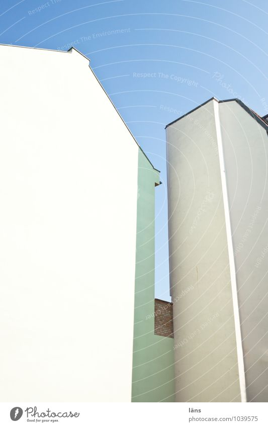 affection House (Residential Structure) Sky Wall (building) Deserted Upward Roof