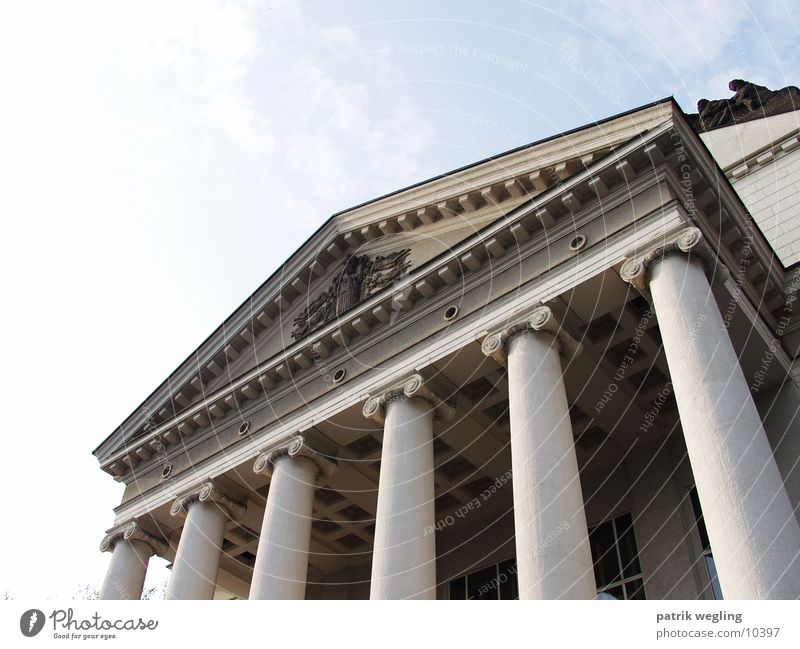theatrical columns Entrance Architecture Column Theatre