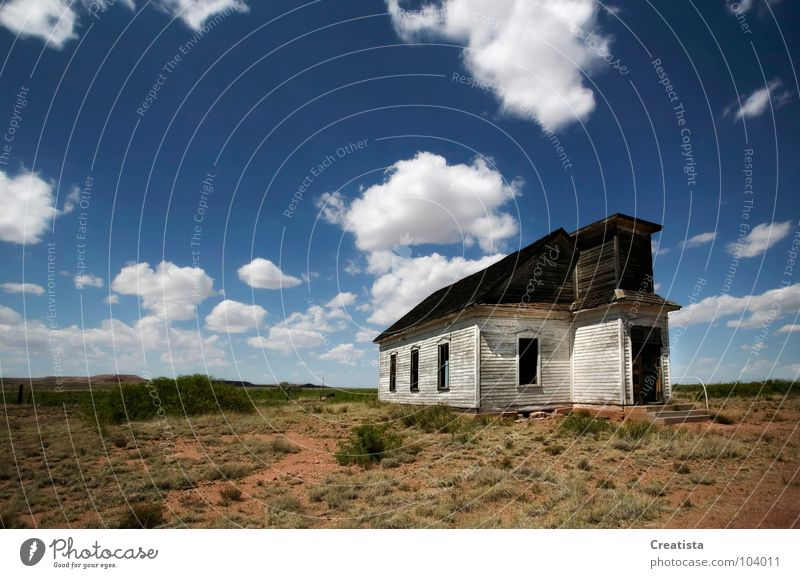 Abandoned Rural Church Cumulus Sky Wood flour Countries Religion and faith House of worship fluffy church building rural country god christianity vacant