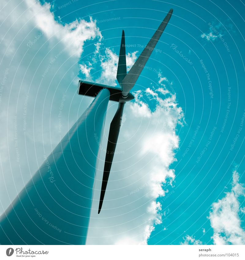 Wind Power Sky Environment Energy industry Modern Electricity Technology Clean Wing Wind energy plant Construction Ecological Environmental protection