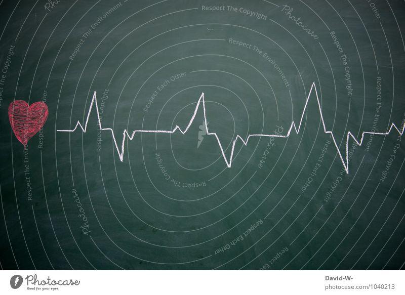 lifeline Healthy Education School Study Classroom Blackboard Doctor Hospital Health care Heart Love Humanity Life Performance Chalk Rhythm Beat Medication