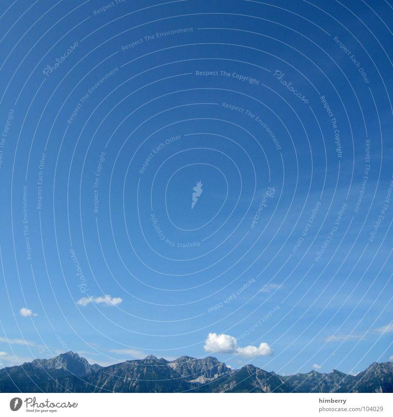 Sky Blue Summer Vacation & Travel Clouds Mountain Dream Vantage point Alps Hill Austria Gorgeous