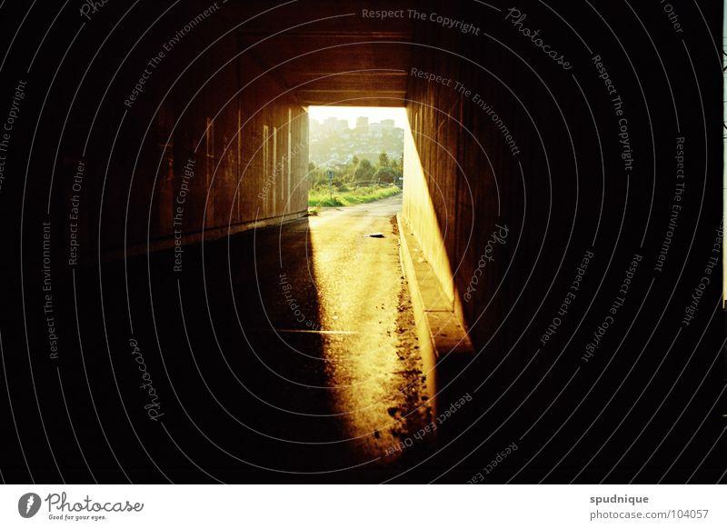 Beautiful Sun Summer Dark Warmth Lighting Hope Tunnel