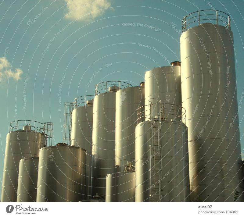 Industry Factory Commerce Tank Boiler Dairy Products