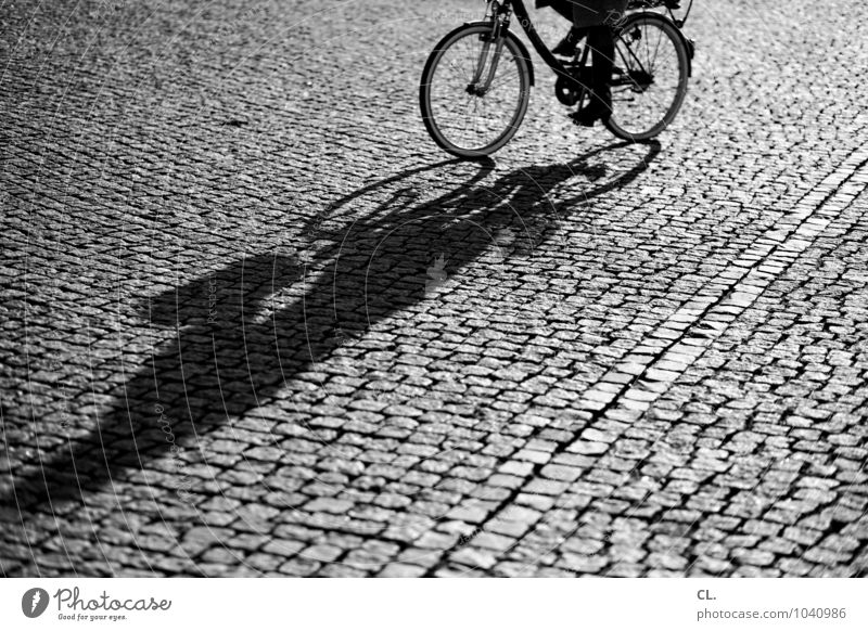 cycle Athletic Vacation & Travel Cycling Human being Adults Life 1 Summer Beautiful weather Places Transport Means of transport Traffic infrastructure Street
