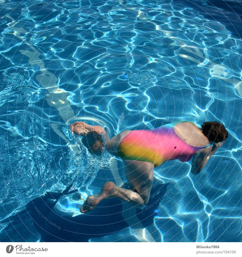 Water Blue Summer Joy Vacation & Travel Sports Playing Movement Swimming pool Italy Dive Rainbow Aquatics Swimsuit Open-air swimming pool