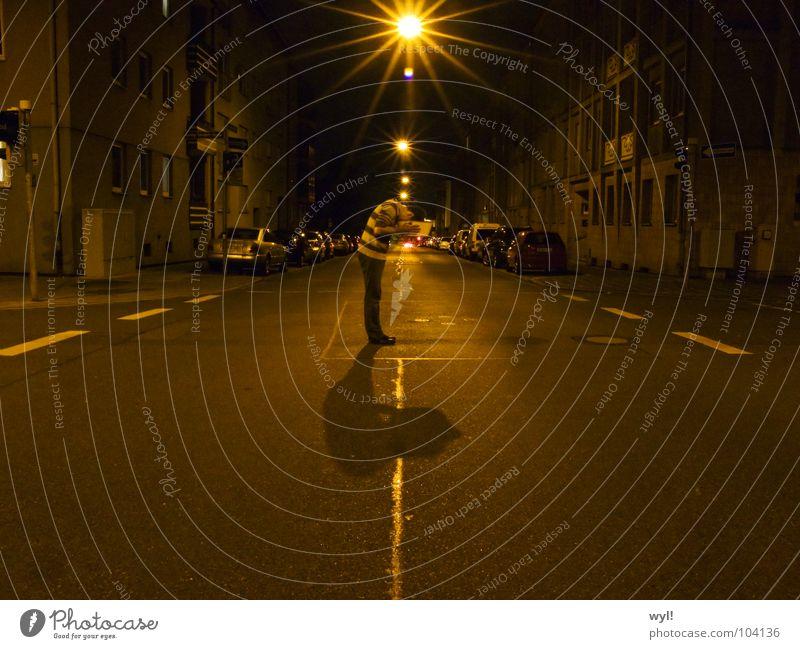 Transition 2 Circle Night Longing Metamorphosis Art Arts and crafts  Street Intersection Water Bowl jörg Shadow Lanes & trails