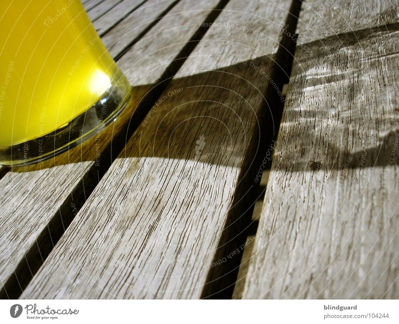 Old Sun Summer Yellow Dark Wood Glass Weather Table Beverage Drinking Gastronomy Beer Restaurant Derelict Fluid