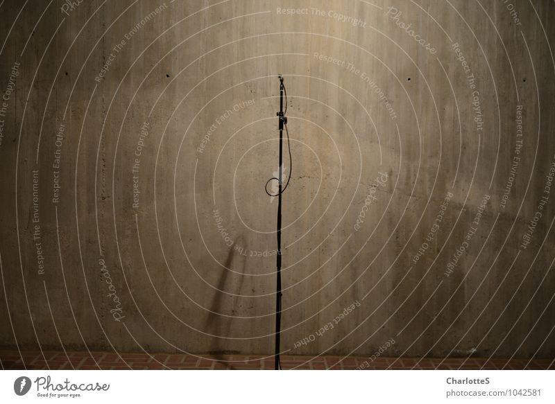 admission Fishing (Angle) Workplace Church Studio shot Studio lighting Record Microphone Pillar Cable Telescope Concrete Brick Stone Listening Brown