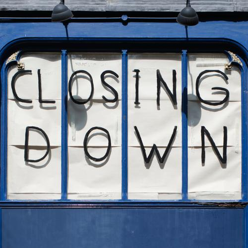 (Show) Window Shopping Work and employment Workplace Trade London East End House (Residential Structure) Facade Characters Sell Old Town Blue Fear of the future