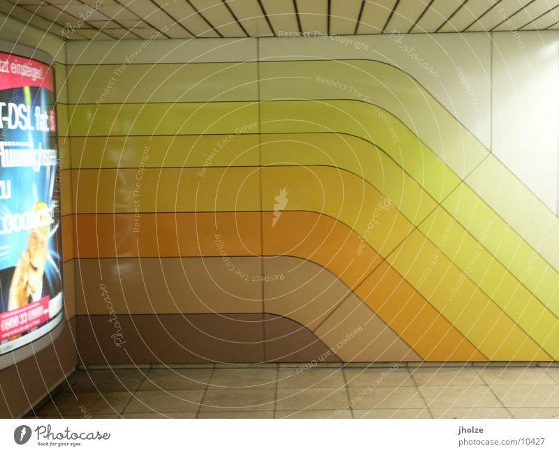 Wall (building) Style Stripe Underground Frankfurt