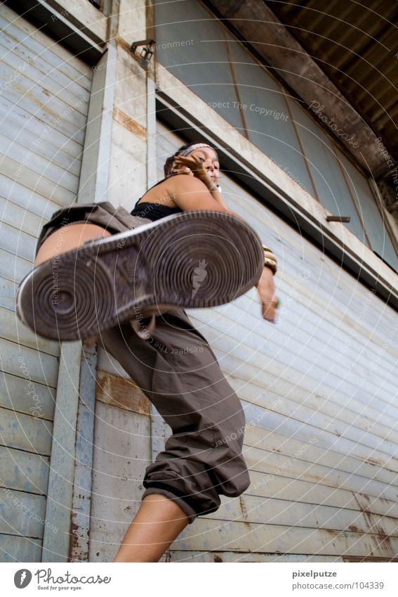 Woman Street Feet Footwear Dance Anger Footprint Fight Warehouse Storage Aggravation Tread Kick Kickboxing Contradict
