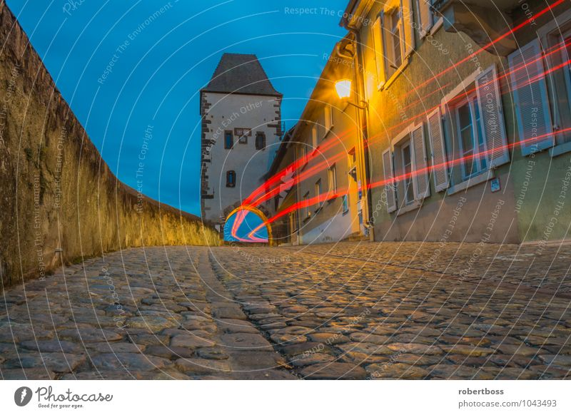The Hagenbach Tower Vacation & Travel Tourism Trip Adventure Sightseeing City trip Town Wall (barrier) Wall (building) Jump breisach Germany view Europe church