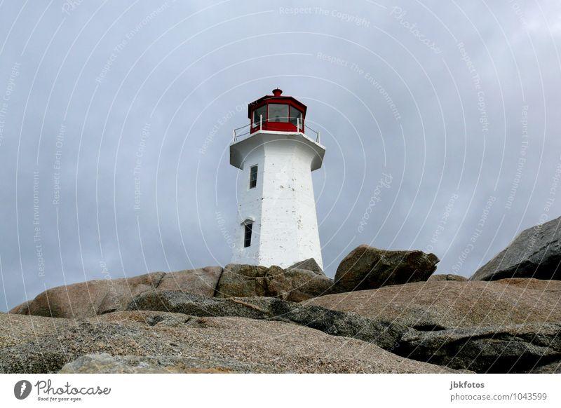 Peggy's Cove lighthouse Environment Landscape Elements Sky Horizon Rock Coast Lakeside Ocean Atlantic Ocean Tall Lighthouse