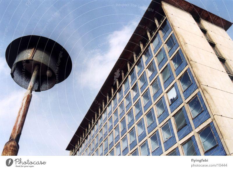 Building Architecture Dresden Lantern GDR East Prefab construction Saxony
