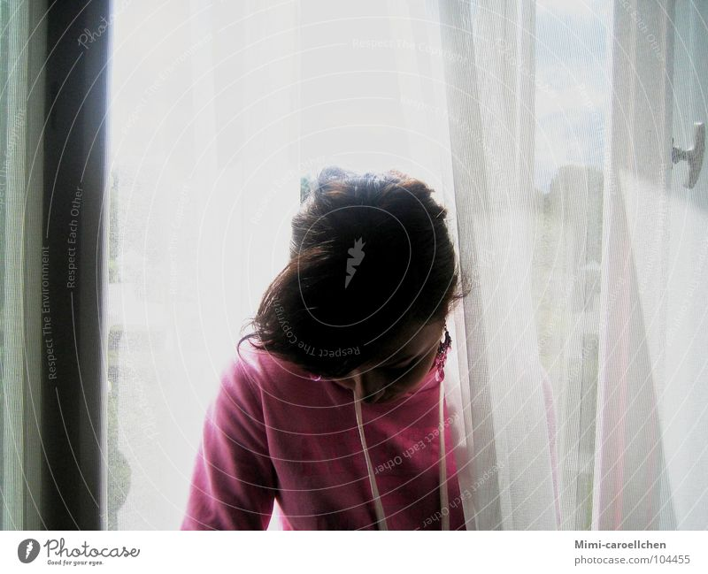 villa hammerschmidt Woman Sweater Iranian Girl Window Large Curtain White Long Thin Transparent Gray Light Strong Exhaustion Think Hammersmith Villa