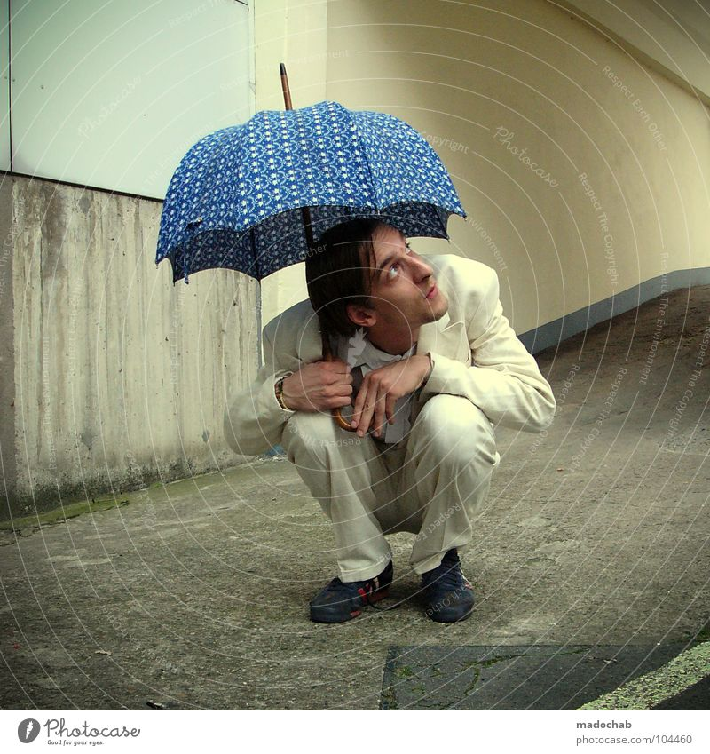 Human being Man Joy Loneliness Movement Style Sadness Funny Rain Work and employment Dance Fear Sit Wait Masculine Multiple