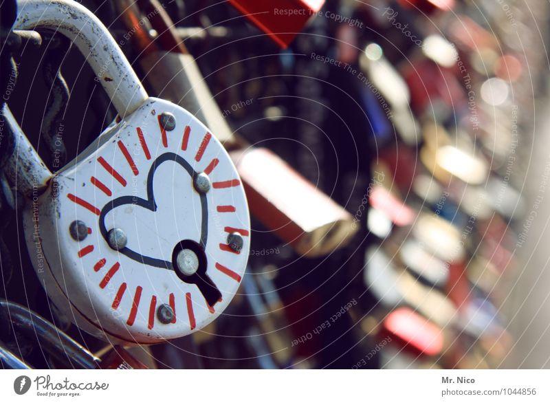 ´schliebdisch Lifestyle Kitsch Sympathy Friendship Together Love Infatuation Romance Lock Heart-shaped Symbols and metaphors Bridge Emotions Loyalty