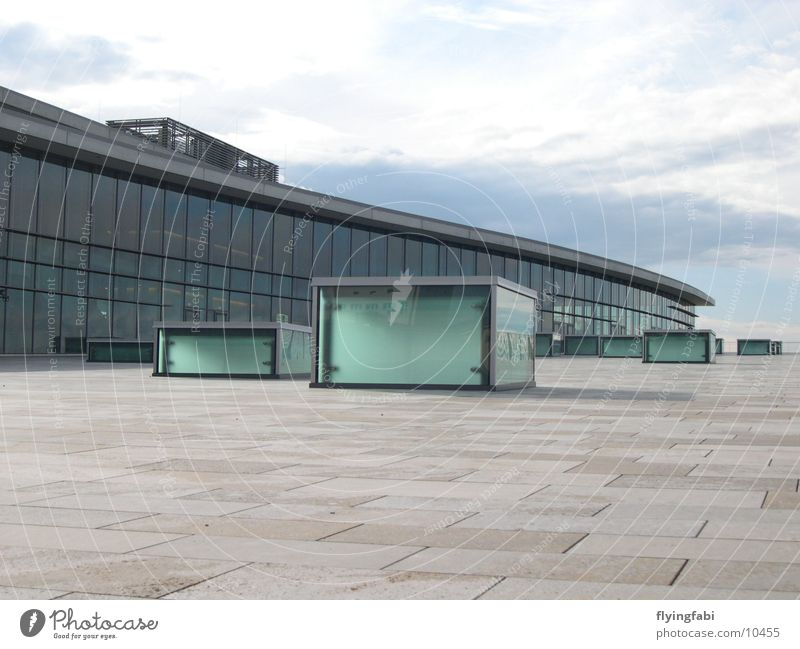 Congress Center Dresden Building Style Architecture Trade fair Modern