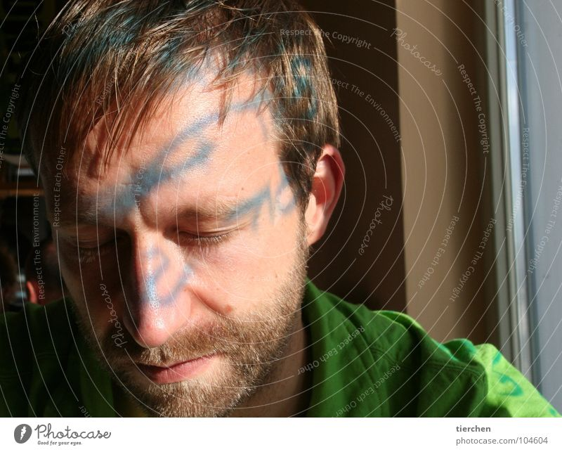 sketched Light Man Reflection Facial hair Lips Letters (alphabet) Window Calm Sleep Relaxation Beautiful Characters Shadow Hair and hairstyles Ear Face Mouth