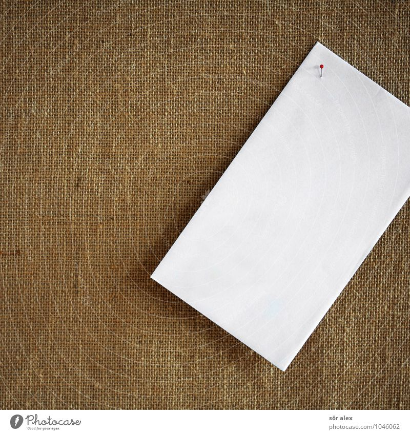 White Brown Copy Space Communicate Paper Planning Information Contact Write Make Piece of paper Forget Classification Remember Pin Letter (Mail)